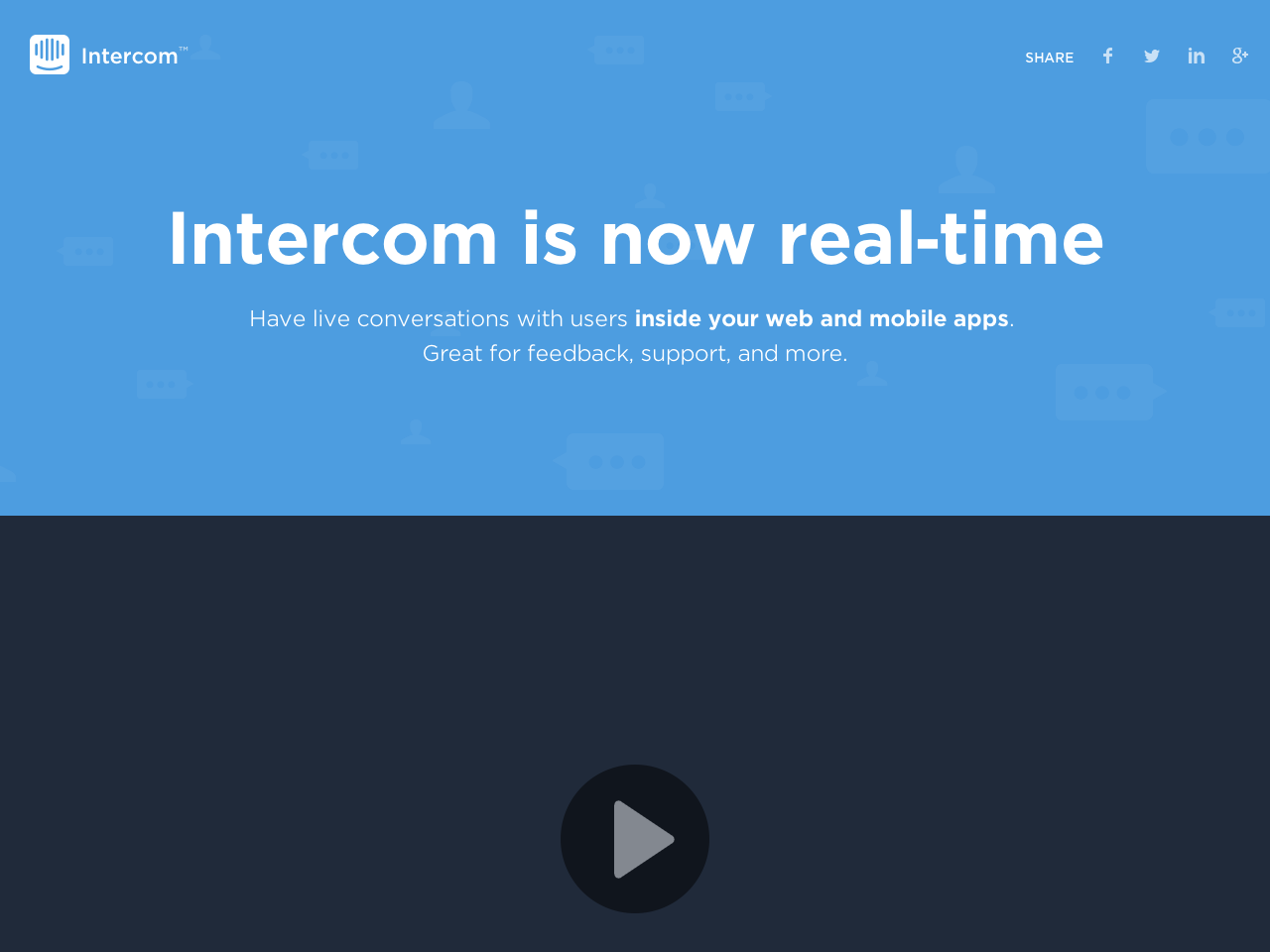 Intercom Real-Time
